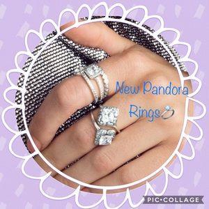 New Pandora Rings in our closet (Pandora ad photo)